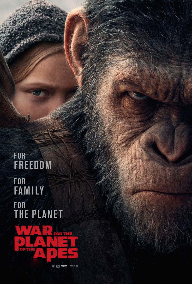 La guerra del planeta de los Simios | 12 de julio