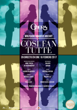 COSI FAN TUTTE – Ópera | 16 de febrero de 2017