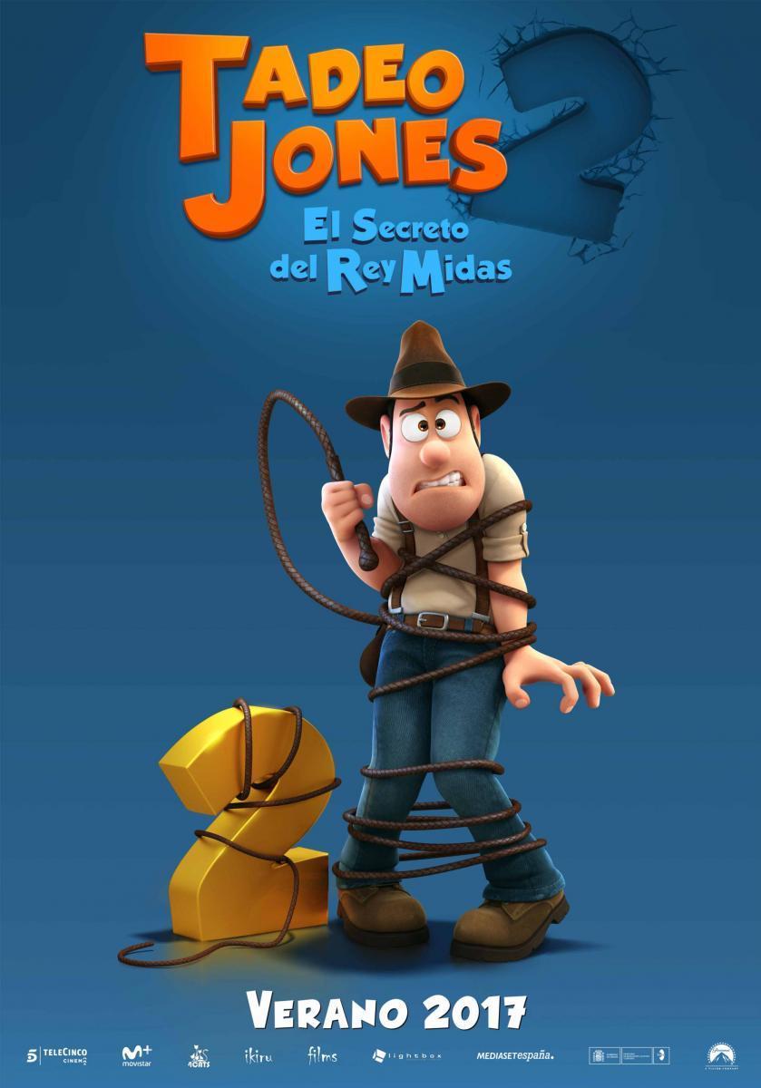 TADEO JONES 2: EL SECRETO DEL REY MIDAS | 25 de agosto