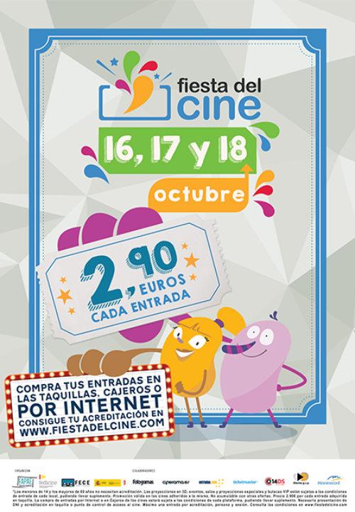 FIESTA DEL CINE 2017 | 16, 17 y 18 de octubre