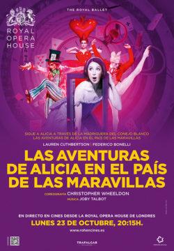 ALICIA EN EL PAÍS DE LAS MARAVILLAS | Ballet | lunes 23 de octubre 20:15h